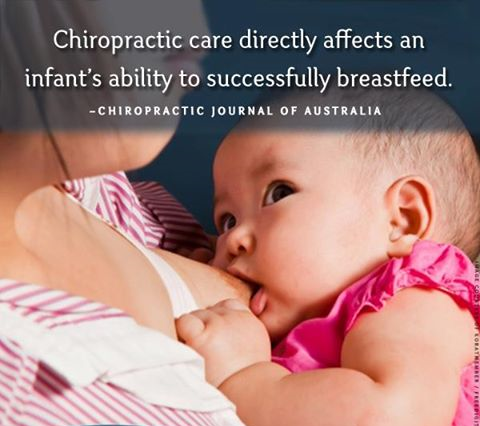 chiropractic helps breastfeeding